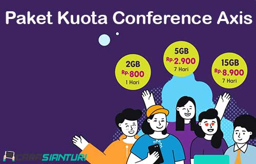 Paket Kuota Conference Axis