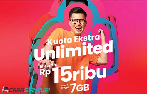 Paket Kuota Ekstra Unlimited Telkomsel