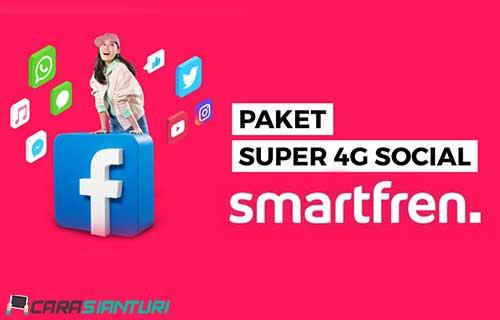 Paket Super 4G Social Smartfren