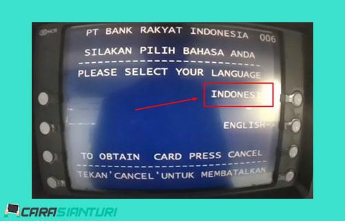 2 Pilih Bahasa Indonesia
