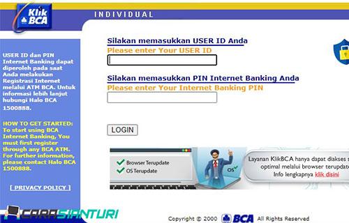 Bayar Tagihan Indihome Lewat Internet Banking BCA