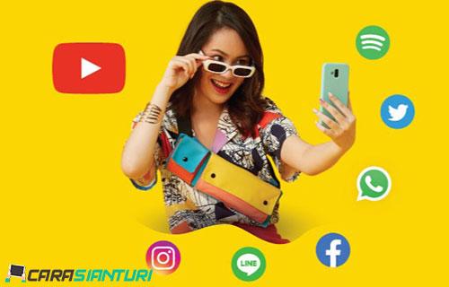 Cara Daftar Paket Chatting Sebulan Indosat Ooredoo