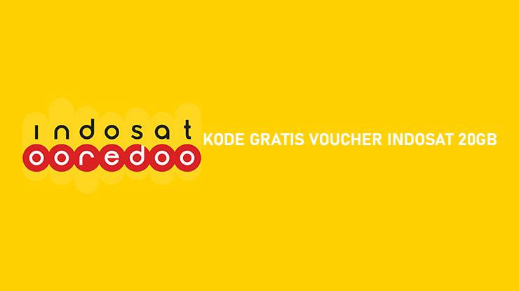KODE GRATIS VOUCHER INDOSAT 20GB