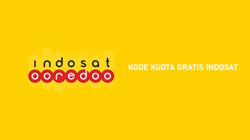 Kode Kuota Gratis Indosat Ooredoo Pulsa dan Internet