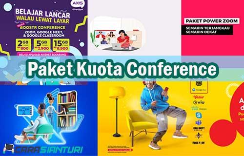 Paket Kuota Conference