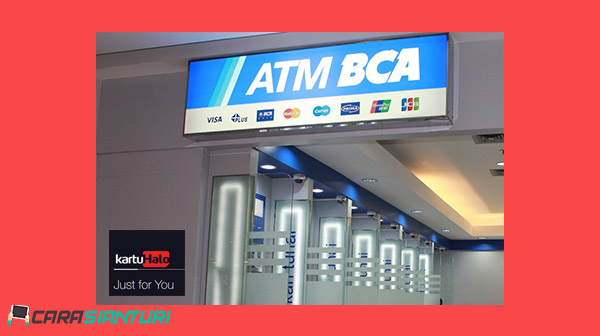 Cara Bayar Kartu Halo Lewat ATM BCA