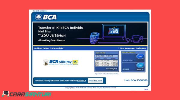 Cara Bayar Kartu Halo Lewat Klik BCA