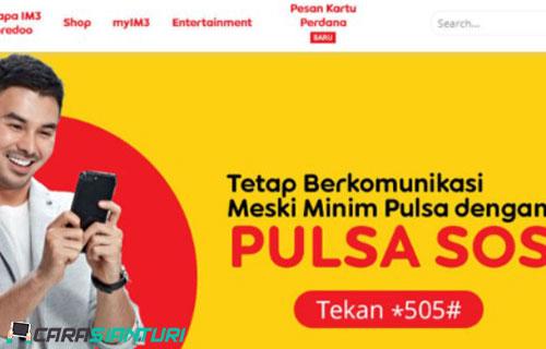 Cara Berhenti Pulsa SOS Indosat Terbaru