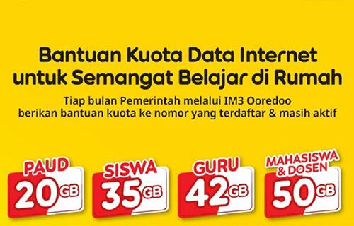 Daftar Paket Bantuan Indosat