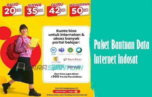 Paket Bantuan Data Internet Indosat