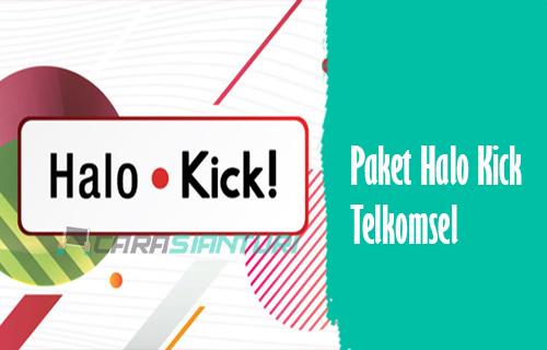 Paket Halo Kick Telkomsel