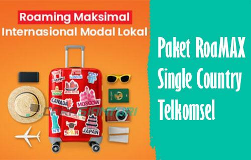 Paket RoaMAX Single Country Telkomsel