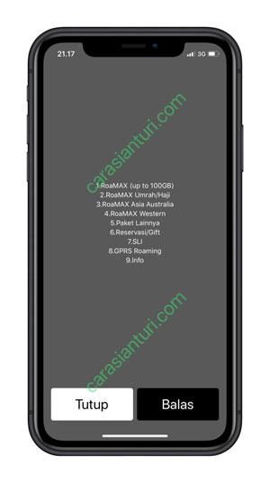 Pilih RoaMAX up to 100GB