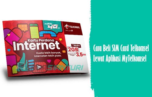 Cara Beli SIM Card Telkomsel