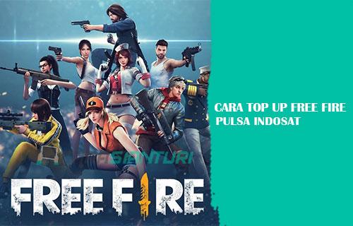 Cara Top Up Free Fire Pulsa Indosat