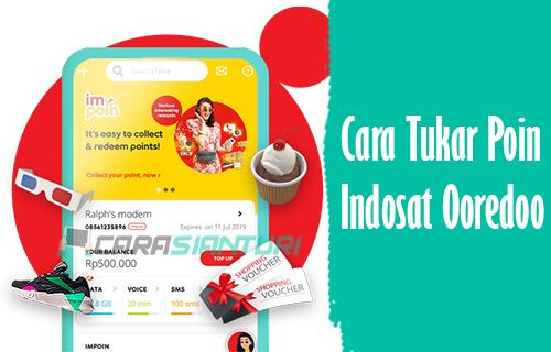 Cara Tukar Poin Indosat Ooredoo
