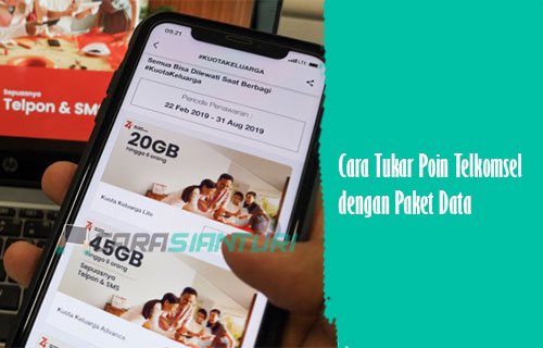 Cara Tukar Poin Telkomsel dengan Paket Data