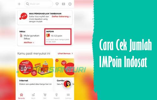 Cek Poin Indosat