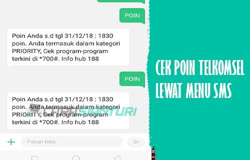 Cek Poin Telkomsel Lewat SMS