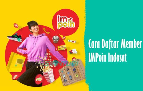 Daftara Member IMPoin Indosat