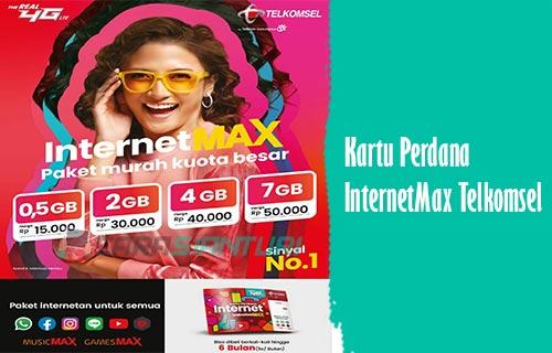 Kartu Perdana InternetMax Telkomsel