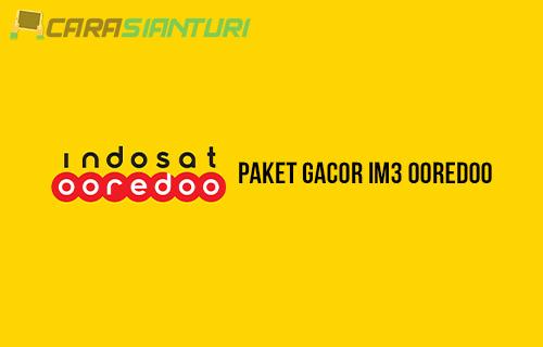 Paket Gacor IM3 Ooredoo