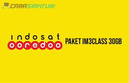 Paket Internet IM3Class 30GB