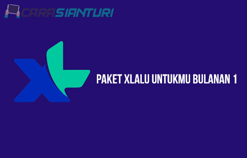 Paket XLalu Untukmu Bulanan 1