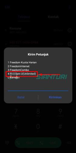 Pilih Freedom U