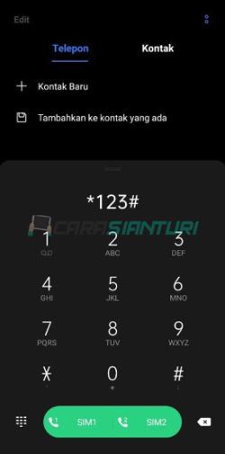 Tekan Kode Dial