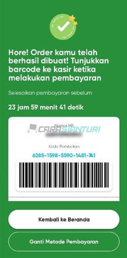 Ambil Kartu by U di Indomaret