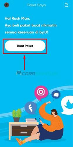 Buka Aplikasi by U 3