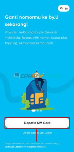 Jalankan Aplikasi by U
