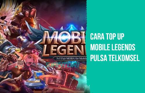 Cara Top Up Mobile Legends Pulsa Telkomsel